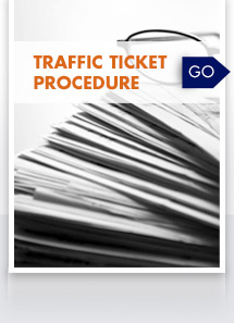 Traffic Ticket Procedure